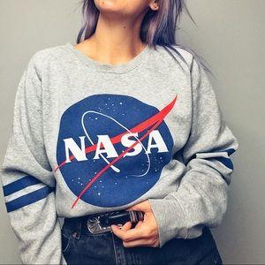 """""""NASA"""" Grey Sweatshirt"""